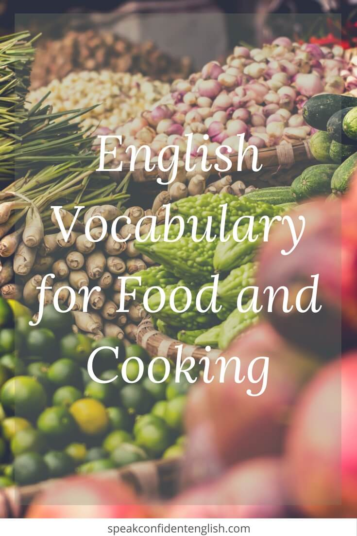How to talk naturally about food cooking in english for Cuisine in english