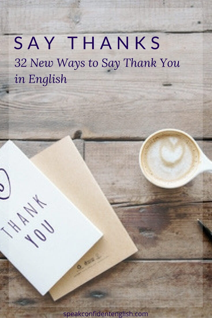 how to say thank you in japanese from english